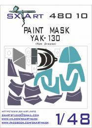 SX-ART 1/48 Yak-130 Painting Mask for ZVE