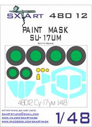 SX-ART 1/48 Su-17UB Painting Mask for KTH