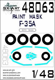 SX-ART 1/48 F-35A Painting mask for KITTYH