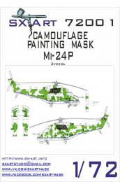 SX-ART 1/72 Mi-24P Camouflage Painting Mask for ZVE