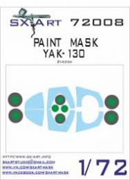 SX-ART 1/72 Yak-130 Painting Mask for ZVE