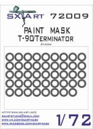 SX-ART 1/72 T-90/Terminator Painting Mask for ZVE