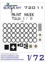 SX-ART 1/72 Toldi I/II Painting Mask for IBG
