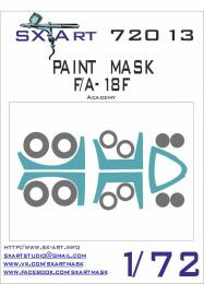 SX-ART 1/72 F/A-18F Painting Mask for ACAD