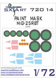 SX-ART 1/72 MiG-25RBT Painting Mask for ICM