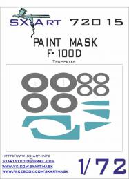 SX-ART 1/72 F-100D Painting Mask for TRU