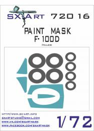 SX-ART 1/72 F-100D Painting Mask for ITAL