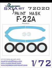 SX-ART 1/72 F-22A Painting Mask for ACA