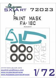 SX-ART 1/72 F/A-18C Painting Mask for ACA