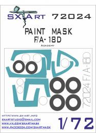 SX-ART 1/72 F/A-18D Painting Mask for ACA