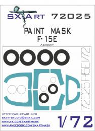 SX-ART 1/72 F-15E Painting Mask for ACA