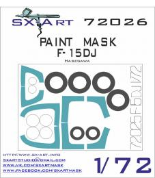 SX-ART 1/72 F-15DJ Painting Mask for HAS