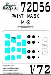 SX-ART 1/72 Mi-2 Painting mask for HBB