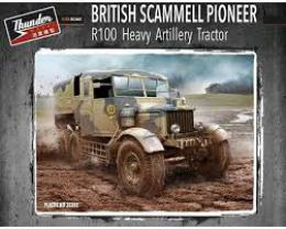 THUNDER MODEL 1/35 Scammell Pioneer Tractor R100 Heavy Artillery Tractor