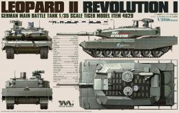 TIGER MODEL 1/35 German Main Battle Tank Revolution I