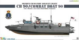 TIGER MODEL 1/35 Sweden CB-90 FDST Assault Craft