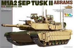 TIGER MODEL 1/72 M1A2 SEP TUSK II Abrams