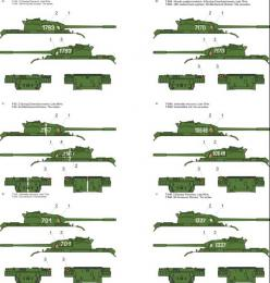 TORO Decals 1/48 48D25 T-54 / T-55 tanks in Polish service vol.1