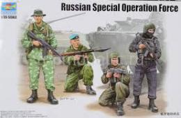 TRUMPETER 1/35 Russian Special Operation Force