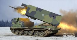 TRUMPETER 1/35 M270/A1 Multiple Launch Rocket System - Finland/Netherlands