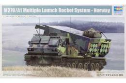 TRUMPETER 1/35 M270/A1 multi-barrel rocket system