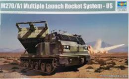 TRUMPETER 1/35 M270/A1 Multiple Launch Rocket Syt