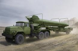 TRUMPETER 1/35 Soviet Zil-131V tow 2T3M1 Trailer with 8K14 Missile
