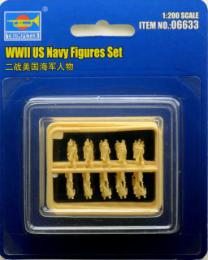 TRUMPETER 1/200 WWII US Navy Figures Set