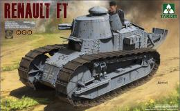 TAKOM 1/16 1004 1/16 Renault FT-17 3 in 1
