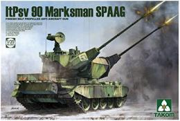 TAKOM 1/35 2043 Finnish Self Proppelled AntiAircraft Gun