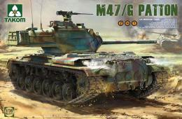 TAKOM 1/35 2070 US Medium tank M47/G 2in1 Patton
