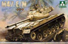 TAKOM 1/35 2072 US Medium tank M47 E/M Patton 2in1