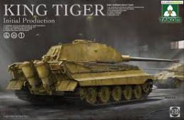 TAKOM 1/35 2096 WWII German Kingtiger Initial 4in1