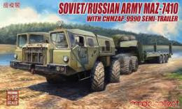MODELCOLLECT 1/72 MAZ-7410 with ChMZAP-9990