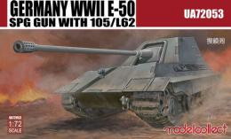MODELCOLLECT 1/72 Germany WWII E-50 Self-Propelled Gun