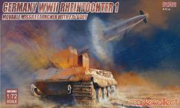 MODELCOLLECT 1/72 Rheintochter 1 with E75 body