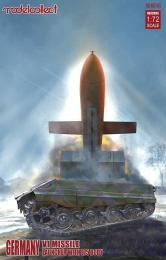 MODELCOLLECT 1/72 Germany WWII E-75 V1 Launcher