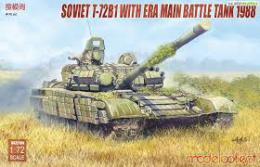 MODELCOLLECT 1/72  Russian T-72B1 with ERA 1988