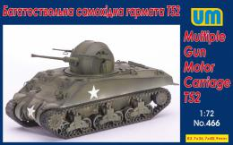 UM 1/72 Multiple Gun Motor Carriage T52
