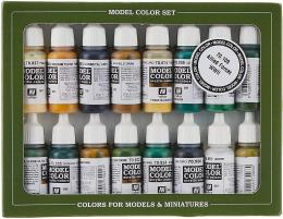 VALLEJO 70109 Allied Forces WWII Set Model Color 16x 17ml