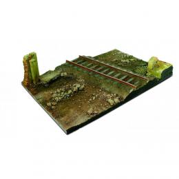 VALLEJO SC104 Diorama base 31x21cm-CountryRoadCross