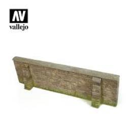 VALLEJO SC109 Diorama Accessories Normandy Village Wall 2