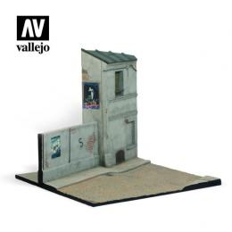 1/35 SC112 Diorama French House Corner