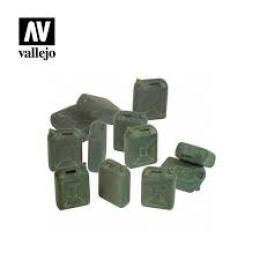 VALLEJO SC208 Diorama Accessories IDF Jerrycan set 1/35