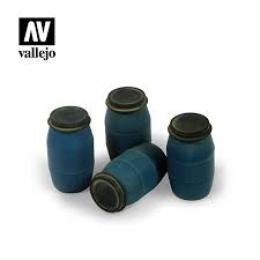 VALLEJO SC210 Diorama Accessories Modern Plastic Drums #1