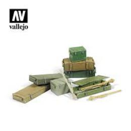 VALLEJO SC222 Diorama Accessories Panzerfaust 60 M set 1/35
