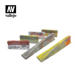 VALLEJO SC228 Diorama Accessories Urban Concrete Barriers
