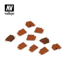 VALLEJO SC229 Diorama Accessories Roof Tiles set 1/35