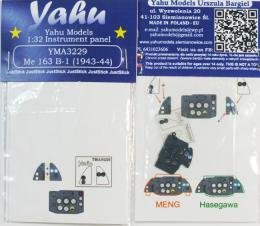 YAHU 1/32 Instrument panel for Me 163 B-1 for MENG