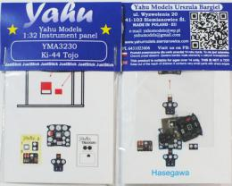 YAHU 1/32 Instrument panel for Ki-44 Tojo for HAS
